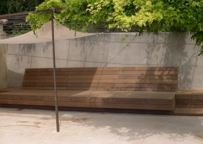 BANC POOL HOUSE - Menuiserie de Jardin - MAS D EBENE