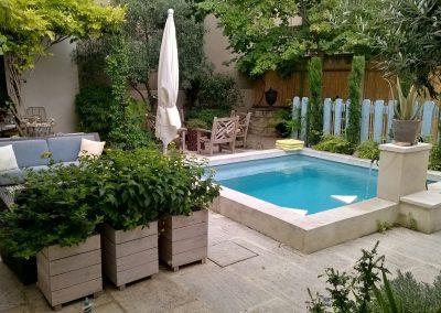 BRISE VUE EN CHENE - Menuiserie de Jardin - MAS D EBENE
