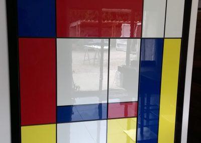 MEUBLE BAR LAQUE - Menuiserie d'Agencement - MAS D EBENE