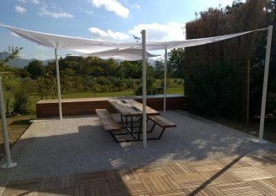 OUTDOOR KITCHEN - Menuiserie de Jardin - MAS D EBENE