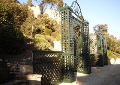 TREILLAGE ENSEMBLE - Menuiserie de Jardin - MAS D EBENE
